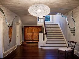 modern contemporary foyer lighting decoration