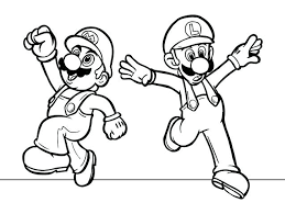 Coloring Pages Mario Luigi Coloring Pages Page Kart 7 Super Sheets