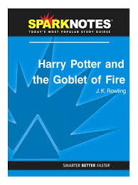 sparknotes · rakuten ebooks audiobooks and  harry potter and the goblet sparknotes literature guide series