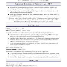 Research Technician Resume Entry Level Research Technician Resume Sample Monster Com 4