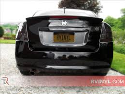 Rtint® Nissan Sentra 2007-2012 Tail Light Tint Film