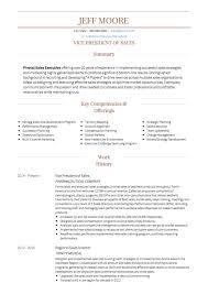 Sales CV example
