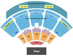Jacobs Pavilion Seating Chart 23 Punctilious Ak Chin Pavilion Capacity
