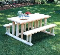 diy picnic table plans picnic bench exterior garden and patio simple backyard rectangle pine park picnic