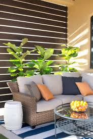 easy diy deck and patio privacy screens