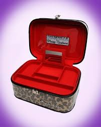 leopard print vine style train case from pinup couture pinup couture train case makeup