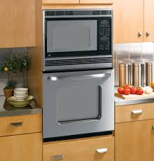 ge® 27 built in double microwave thermal wall oven jkp90spss product image product image
