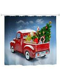 truck tree 3d digital printing fabric waterproof and mildewproof