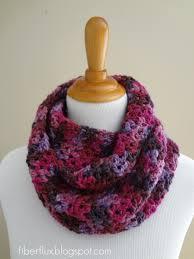 All Free Crochet Patterns Interesting Fiber Flux Free Crochet PatternGelato Infinity Scarf