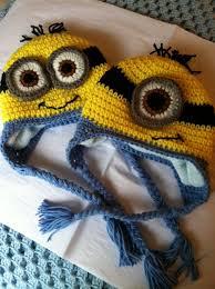 Minion Hat Crochet Pattern Adorable Lakeview Cottage Kids Minion Earflap Hat FREE PATTERN