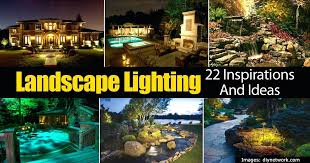 landscape lighting ideas around pool outdoor for the inspirations