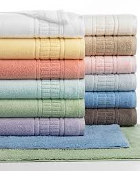 martha stewart collection plush bath towel collection