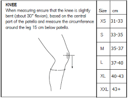 Rehband Knee Sleeves Size Chart Www Bedowntowndaytona Com