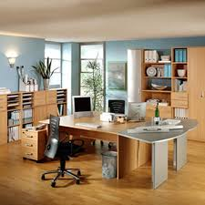 Two Person Home Office Desk Plan ...