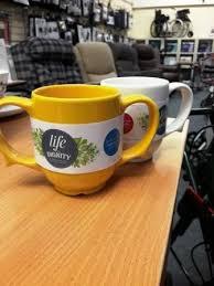 Two Handled Ceramic Mug Dignity By Wade