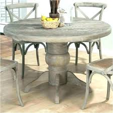 distressed gray dining table distressed gray pedestal table p driftwood round pedestal dining distressed grey wood distressed