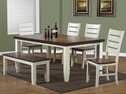 white dining bench. Dining Sets White Bench