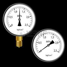 gas manometer. the gas manometer isolated on black background royalty free cliparts, vectors, and stock illustration. image 12481597. f