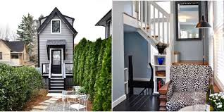 tiny house tours. Somehow, Three (!) Stories Squeeze Into This Skinny Home Tiny House Tours