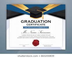 Graduation Certificate Images Stock Photos Vectors