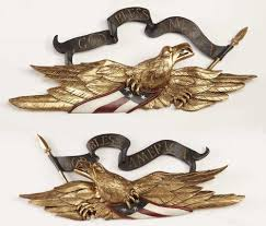 2 piece metal wall art unique aa importing 2 piece eagle wall décor set