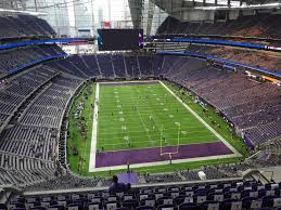 Us Bank Stadium View From Section 328 Vivid Seats