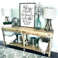 farmhouse living room decor wall decorating walls gorgeous rustic for dining deco