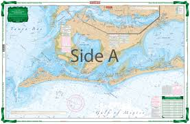 Anna Maria Sound And Sarasota Bay Large Print Navigation Chart 21e