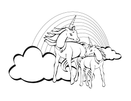 Kleurplaten Eenhoorn Coloring Sheet Unicorn Design Templates Of