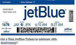 Free Tiket Free Jetblue Tickets Scam