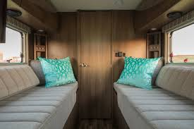 Incredible interior design ideas for your rv camper Modern Lush Palm Top Luxurious Rvs Camping World