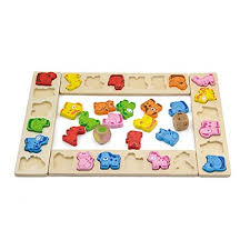 Wooden Carnival Games Animals Carnival Dice Game 81