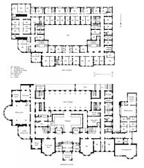 plans of the ground floor and first floor of the langham hotel survey of