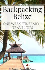 One week backpacking belize itinerary belize backpacking caye caulker san pedro  hopkins placencia belize tra… in 2020 | Belize travel, Placencia belize,  Perfect destination