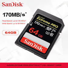 NEW <b>SanDisk SD card</b> 128g <b>256g SDXC</b>/<b>SDHC</b> up to 170MB/s sd ...