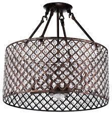 marya 4 light antique copper beaded