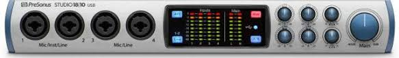 <b>Аудиоинтерфейс PreSonus Studio</b> 18l10 (Laminor Music Store ...