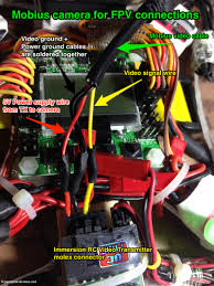 using the mobius camera for fpv personal drones another example of setup for the mobius camera for fpv in which the wires were ered