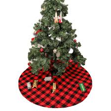 Christmas Design Checks Amazon Com Finelook Finelook Home Christmas Tree Red
