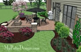 simple patio designs concrete. Simple Patio Designs Backyard Layouts Stylish Design Plans Fun . Concrete