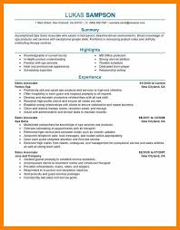 9 Retail Sales Associate Resume Examples Free Ride Cycles
