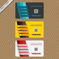 Business Card Template Design Vector Free Download
