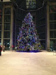 National Gallery of Canada: Christmas Tree in the Lobby
