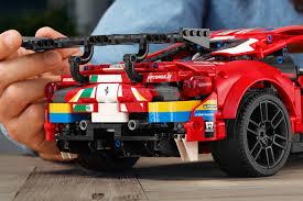 Lego technic and model team. Lego Technic Ferrari 488 Gte Af Corse 51 Model Hypebeast