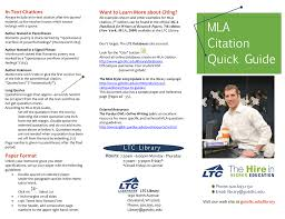 Mla In Text Citations Want To Learn More About Citing
