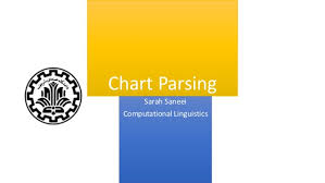 Chart Parsing Chart Parsing Sarah Saneei