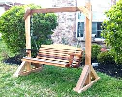 outdoor wooden swing outdoor wooden swing wooden bench swing seat wood swings in plans shocking pictures