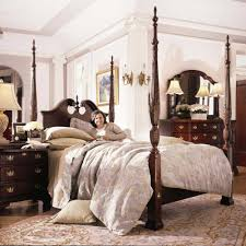 Kincaid Bedroom Furniture Carriage House King Broken Pediment Rice Bed By Kincaid Furniture
