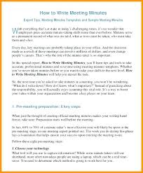 Minute Taking Templates Writing Minutes Template Pdf Buildingcontractor Co