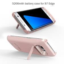 1Pcs High Quality Portable 5200mAh Plastic Powerbank For Samsung Galaxy s7 edge SmartPhone Backup External Battery